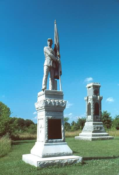 Monuments of Pennsylvania & New York Infantries