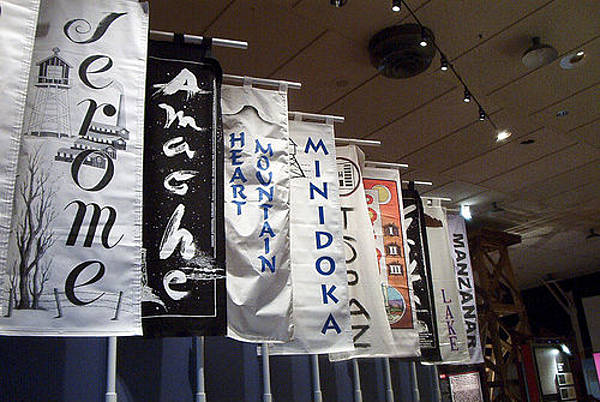 Manzanar Flags