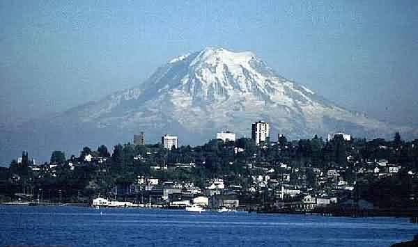 Mount Rainier from Tacoma