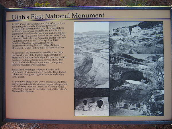 Utah's First National Park