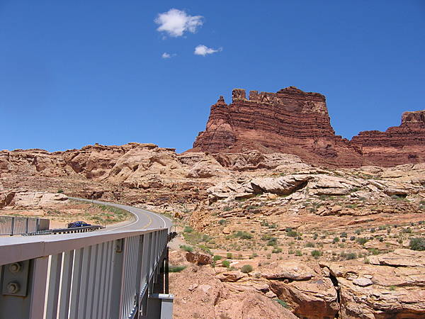 Colorado River Bridge - Hite
