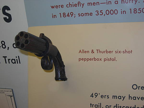Allen & Thurber Six-Shot Pepperbox Pistol
