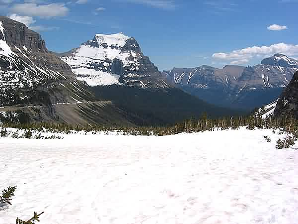 Going-to-the-Sun Mountain - Logan Pass