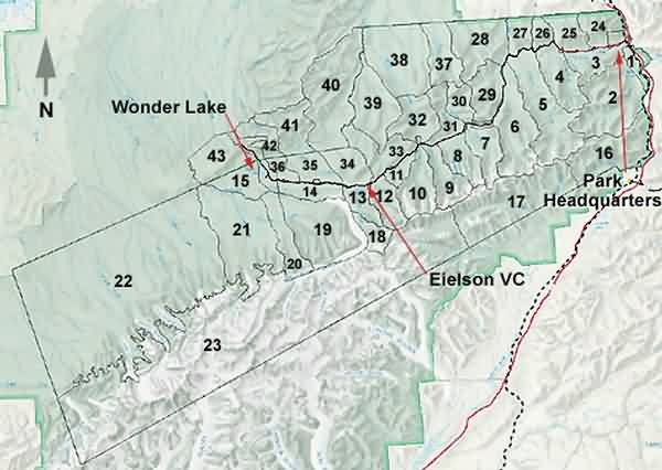 Back Country Grid Map