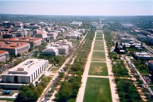 East View - National Mall & Capital