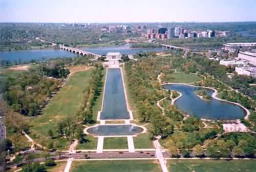 West View - Reflecting Pool & Lincoln Memorial